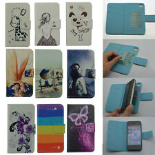 For Mobistel case Wallet Card LUXURY leather cartoon cute Cover