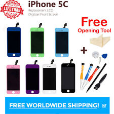 For iPhone 5c Replacement LCD Digitizer Front Screen Assembly Panel