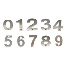 JMA Door House Number #0-9 150mm Numeral Visible Fix 304 Grade Stainless Steel
