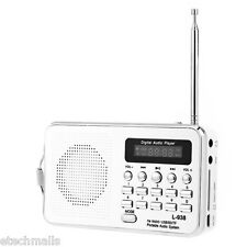 Hot L - 938 Portable FM Radio MP3 Player Support TF / SD Card USB Audio Input