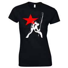 The Clash Strummer London Calling Ladies Cut T-Shirt
