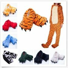 Men&Women Animal Onesie Cartoon Cosplay Pajamas Slippers Paw Claw Shoes!!