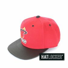 Mitchell & Ness - Miami Heat Carbon Fibre Snapback