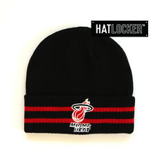 Mitchell & Ness - Miami Heat Black Beanie