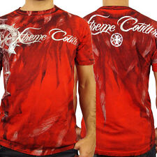 Xtreme Couture Faith Driven Cross Feathers Indian UFC MMA Mens T-Shirt Red S-2XL
