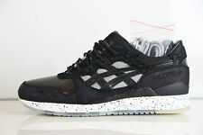 Asics X Bait 25th Anniv Gel-Lyte III Nightmare Snakeskin Black H53SK 9090 8-11 3
