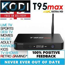 T8 Pro Android TV Box Fully Loaded KODI 16.1 Free Sports Movies PREMIUM BUILD