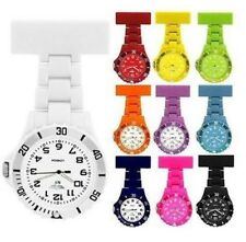 Prince NY London Rubberised Rotating Unisex Nurses Fob Watches in many colours