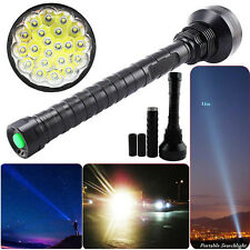 28000LM 5Mode CREE XM-L LED 21x T6 Super Flashlight Torch Lamp Light 26650 18650