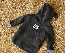 Baby Kids Boy Girl Hooded Autumn Spring Sports Jacket Coat Sweater Jumper 1-6Y