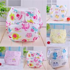Baby Infant  Adjustable Reusable Washable Cloth Cover Diaper Nappies Waterproof