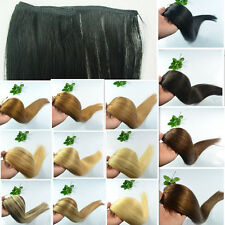 """US Straight 20""""100g 45""""Wide Remy Weft Weave 100% Human Hair Extensions,Full Head"""