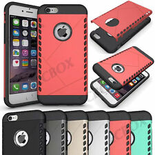 New Armor Hybrid High Impact Rubber Rugged Shield Hard Case For iPhone 6 6S Plus
