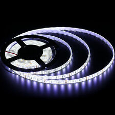 5M 5050/3528/5630 SMD 300/600LEDs Cool / Warm White Waterproof LED Strip Lights