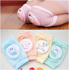 NEW Baby Mesh Crawler Toddler Crawling Elbow Knee Safety Sponge Protector Pads
