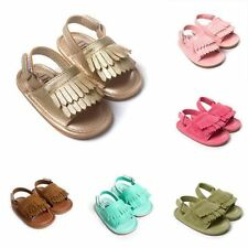 Long Tassel Paragraph Sole Sandals Summer Baby Shoes Soft Soled Baby Sandals Hot