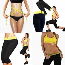 New Womens Workout WAIST, PANT,VEST Neoprene Thermo Active Shaper Hot Pants Yoga