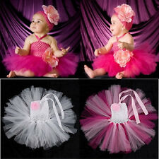 Baby Toddler Infants Girl Sweet Cute Party Chiffon Tutu Dress Newborn up to 5T k