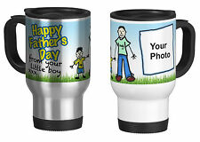 Personalised Travel Mug with Your Photo, Father's day,  from your litle boy