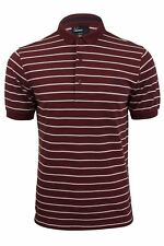 Fred Perry Skinny Striped Striped Polo T-Shirt Port