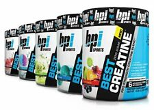 BPI Best Creatine 50 Servings Pre & Post Workout - All Flavors to choose from