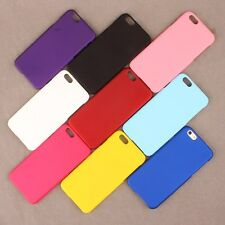 Genuine Matte Shockproof Bumper Rubber Hard Case Cover for iPhone Samsung LG