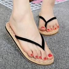 2016 Women Summer Fashion Antiskid Flat Flip-flops Slippers Beach Sandals Shoes