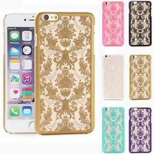 For IPhone 6s/6s Plus Exquisite Hard Carved Shell Hot Fashion Translucent Case