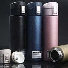 New 500ML Travel Mug Tea Coffee Water Vacuum Cup Thermos Bottle Stainless Steel