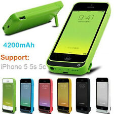 4200mAh External battery power bank Charger pack backup case for iphone 5G 5S 5C