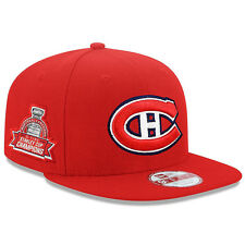Montreal Canadiens New Era NHL Title Detailer 9FIFTY Snapback Cap Hat – Red