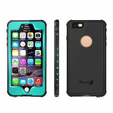 For iPhone 6S/6S Plus Waterproof Shockproof Dirt proof Touch ID Hard Case Cover