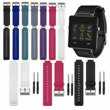 Silicone Sport Watch Band Strap with Tool For Garmin Vivoactive GPS Smartwatch