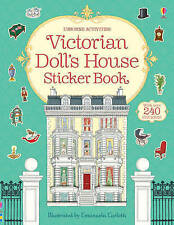 Victorian Doll's House Sticker Book NEW by Ruth Brocklehurst (Paperback, 2013)