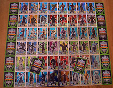Force Attax Clone Wars Series 5 force Master choose Topps Star Wars Cards