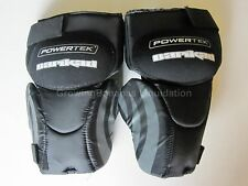 Powertek Barikad V5.0 Hockey Goalie Knee Guards! Senior SR, Thigh Pad