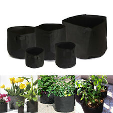 Round Fabric Pots Plant Pouch Root Container Grow Bag Aeration Pot Container Hot