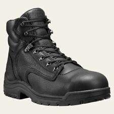 """Timberland PRO Mens Boots TiTAN 6"""" Alloy Safety Toe Black Work Boot 26064"""