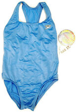 SPEEDO NWT Girls One Piece Bathing Suit BABY BLUE Swimsuit MULTIPLE SIZES  CUTE!