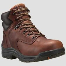 """Timberland PRO Boots Womens TiTAN 6"""" Alloy Safety Toe Brown Work Boot 26388"""