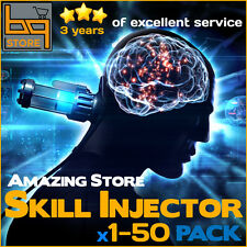EVE Online 1-50 Skill Injector | PLEX and ISK | FAST & SAFE delivery!