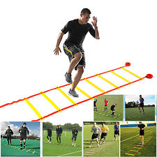 10/12/14/20 Rung 5/6/8/10M Fitness Speed Training Agility Ladder Soccer Football