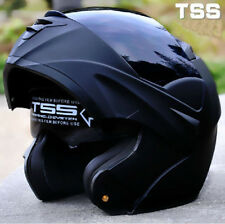2016 7 Colors Carbon Fiber Skull DOT Motorcycle Full Face Dual Visor Helmet Bike
