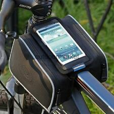 Cycling Bike Bicycle Mobile Phone Pouch Frame Tube Bar Bag Pannier Case Holder