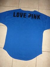 "VICTORIAS SECRET PINK NEW CAMPUS LEOPARD PRINT""LOVE PINK""SCOOPNECK TEESHIRT NWT"
