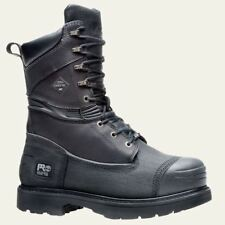 """Timberland PRO Boots Mens 10"""" Gravel Pit Mining Steel Toe Waterproof Insulated"""