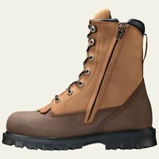 """Timberland PRO Work Boots Mens 8"""" Rigmaster Lace Rigger Steel Toe Waterproof BRN"""