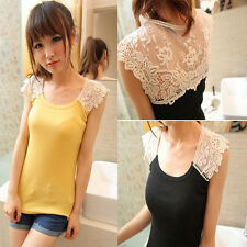 Summer Sexy Women Camisole Lace Sleeveless Tank Top Shirt Vest Blouse