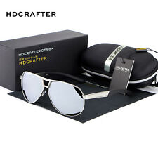 Men Fashion Polarized Aviator Driving Outdoor Designer Sunglasses Glasses Shades