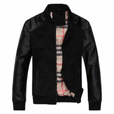 Genuine Leather Jacket new Style for Party  in black/Brown color biker jacket
